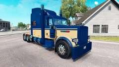 Скин Custom 6 на тягач Peterbilt 389