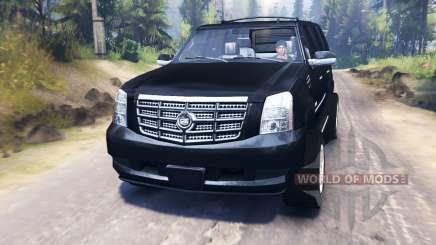 Cadillac Escalade для Spin Tires