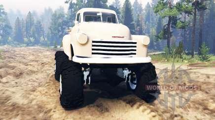 Chevrolet 3100 1951 для Spin Tires