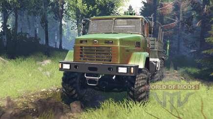 КрАЗ-7140 v5.0 для Spin Tires