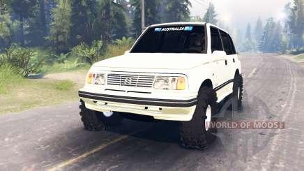 Suzuki Grand Vitara v2.0 для Spin Tires