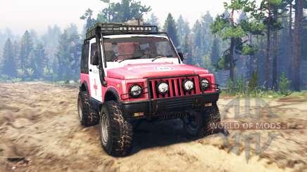 Suzuki SJ 410 для Spin Tires