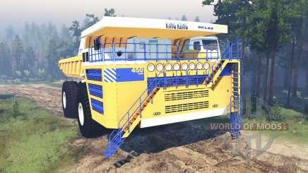 БелАЗ-75710 для Spin Tires