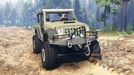 Jeep Wrangler Renegade (JK) для Spin Tires