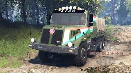 Tatra 163 Jamal 8x8 v5.0 для Spin Tires