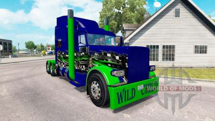 Скин Wild Child на тягач Peterbilt 389 для American Truck Simulator