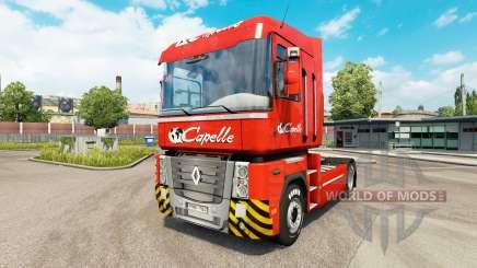 Скин Capelle на тягач Renault для Euro Truck Simulator 2