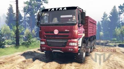 Tatra Phoenix T 158 8x8 v5.0 для Spin Tires