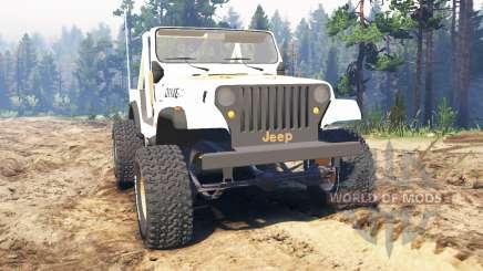 Jeep CJ-7 Renegade [Dixie] для Spin Tires