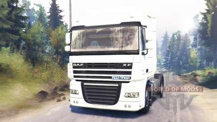 DAF XF105 для Spin Tires