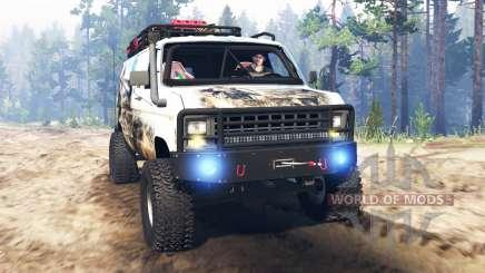 Ford E-350 [econoline safari] для Spin Tires