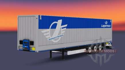 Полуприцеп Krone Dry Liner для Euro Truck Simulator 2
