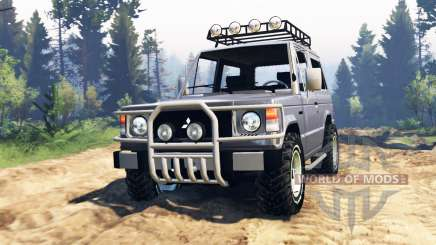 Mitsubishi Pajero I v4.0 для Spin Tires