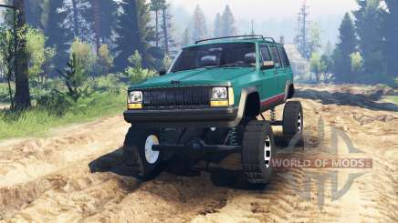 Jeep Cherokee XJ 1996 v2.0 для Spin Tires