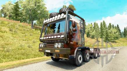 DAF XF [crawler & high lift] для Euro Truck Simulator 2