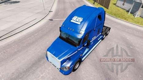 Скин Robert Heath на тягач Freightliner Cascadia для American Truck Simulator