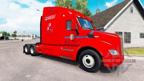 Скин Chivas на тягач Peterbilt для American Truck Simulator