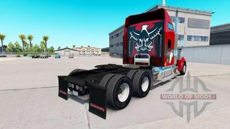 Скин Eagle на тягач Kenworth W900 для American Truck Simulator