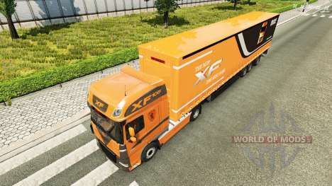 Скин на тягач DAF XF 105.510 для Euro Truck Simulator 2