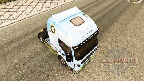 Скин Supermarine Spitfire на тягач Iveco для Euro Truck Simulator 2