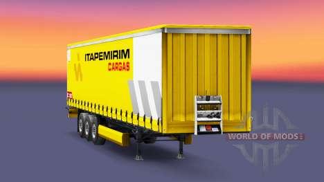 Скин Itapemirim Cargas на полуприцеп для Euro Truck Simulator 2