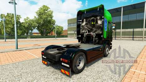 Скин Exclusive Metallic на тягач Scania для Euro Truck Simulator 2