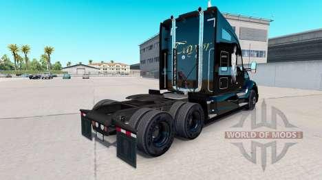 Скин Taylor на тягач Kenworth для American Truck Simulator