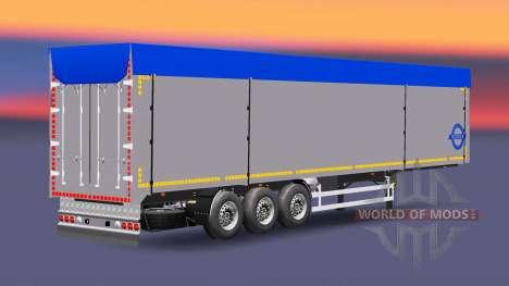 Сборник полуприцепов с различными грузами v3.0 для Euro Truck Simulator 2