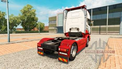 Скин Sarantos на тягач Scania для Euro Truck Simulator 2