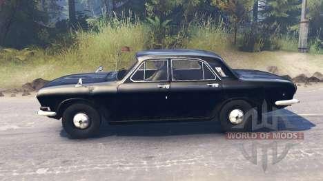 ГАЗ-24 Волга для Spin Tires