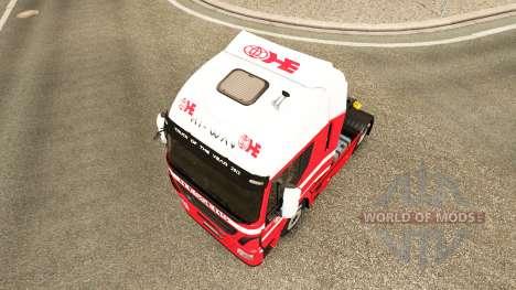 Скин H.Essers на тягач Iveco для Euro Truck Simulator 2