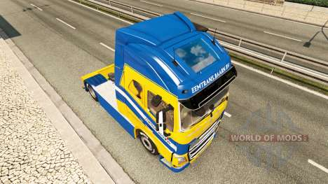 Тюнинг для Volvo для Euro Truck Simulator 2