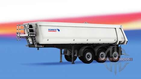 Полуприцеп-самосвал Schmitz Cargobull для American Truck Simulator