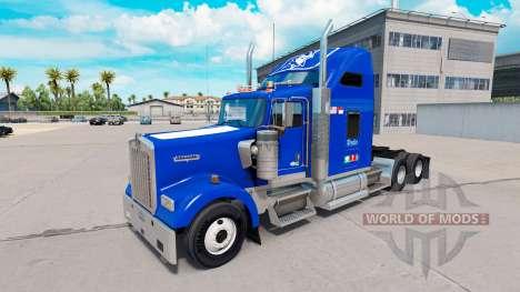 Скин Duke University Pride на Kenworth W900 для American Truck Simulator