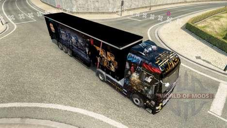 Скин Star Wars на тягач MAN для Euro Truck Simulator 2