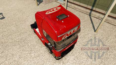 Скин America Latina Logistica на тягач Scania для Euro Truck Simulator 2