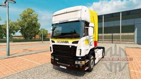 Скин Itapemirim на тягач Scania для Euro Truck Simulator 2