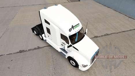 Скин Arnold Transportation на тягач Kenworth для American Truck Simulator