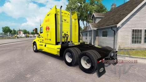 Скин America на тягач Peterbilt для American Truck Simulator