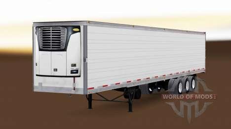 Рефрижераторный трёхосный полуприцеп для American Truck Simulator