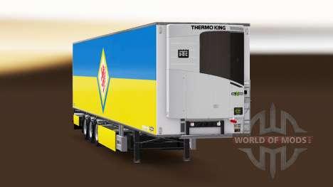 Полуприцеп Chereau Eintracht Braunschweig для Euro Truck Simulator 2