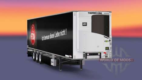 Полуприцеп Chereau 1. FC Nurnberg для Euro Truck Simulator 2