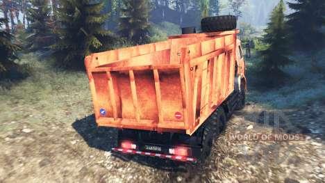 КамАЗ-6522 v8.0 для Spin Tires