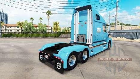 Скин AMST на тягач Volvo VNL 670 для American Truck Simulator