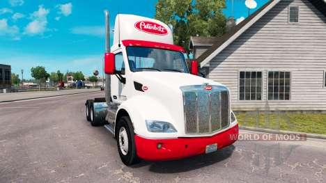 Скин Simple на тягач Peterbilt для American Truck Simulator