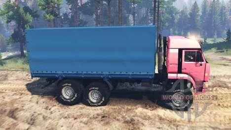КамАЗ-65221 СССР для Spin Tires