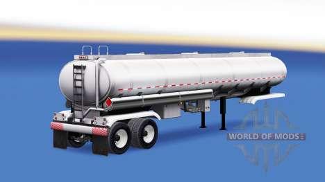 Сборник полуприцепов с грузами для American Truck Simulator