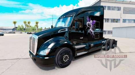 Скин Good vs Evil на тягач Kenworth для American Truck Simulator