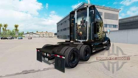 Скин Jungle на тягач Kenworth для American Truck Simulator