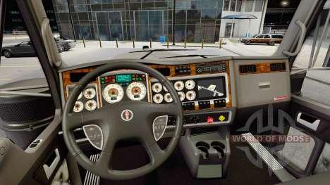 Ретро приборы у Kenworth W900 для American Truck Simulator